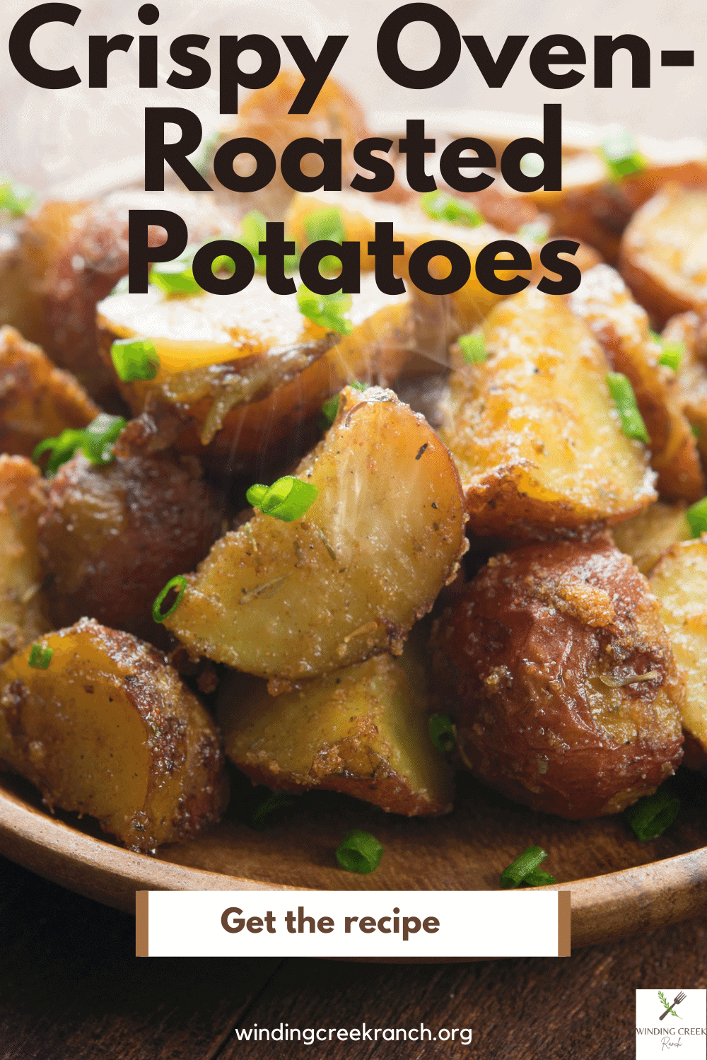 Ultra crispy oven-roasted potatoes turn out perfectly seasoned and crispy, so easy to make, serve with sea salt and parsley