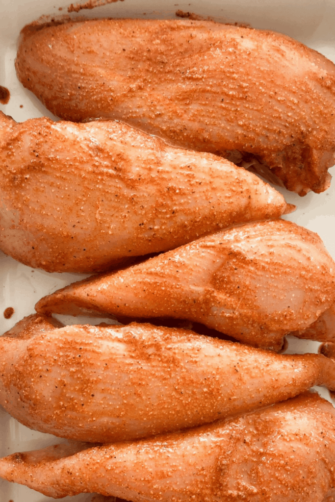 chicken breasts with chili lime marinade