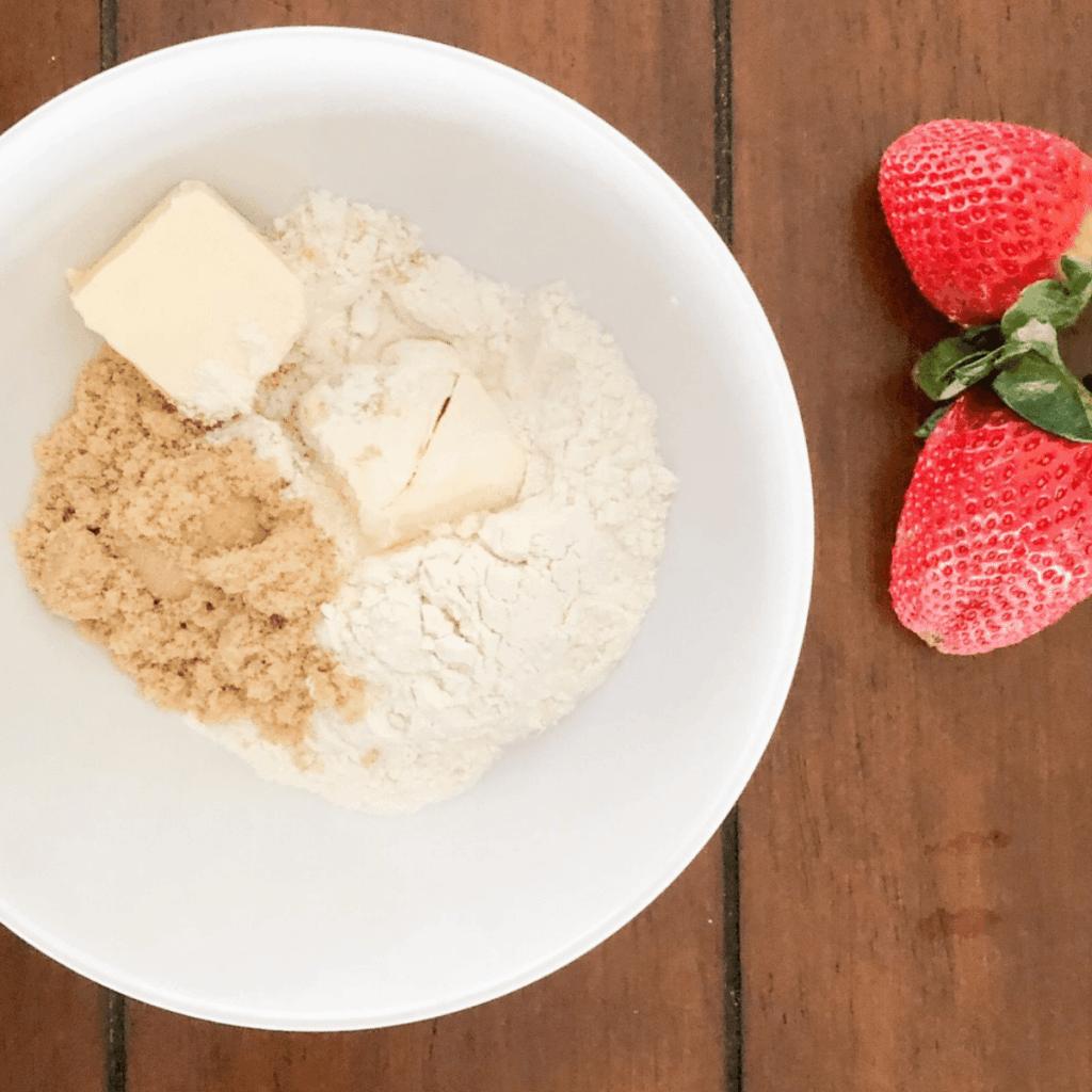 Ingredients for crumb mixture